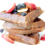Gluten-free Blueberry Waffles | Vegan, Allergy-free
